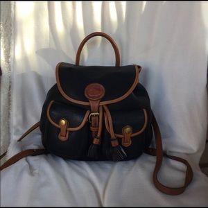 Vintage Dooney and Bourke Backpack Purse R515